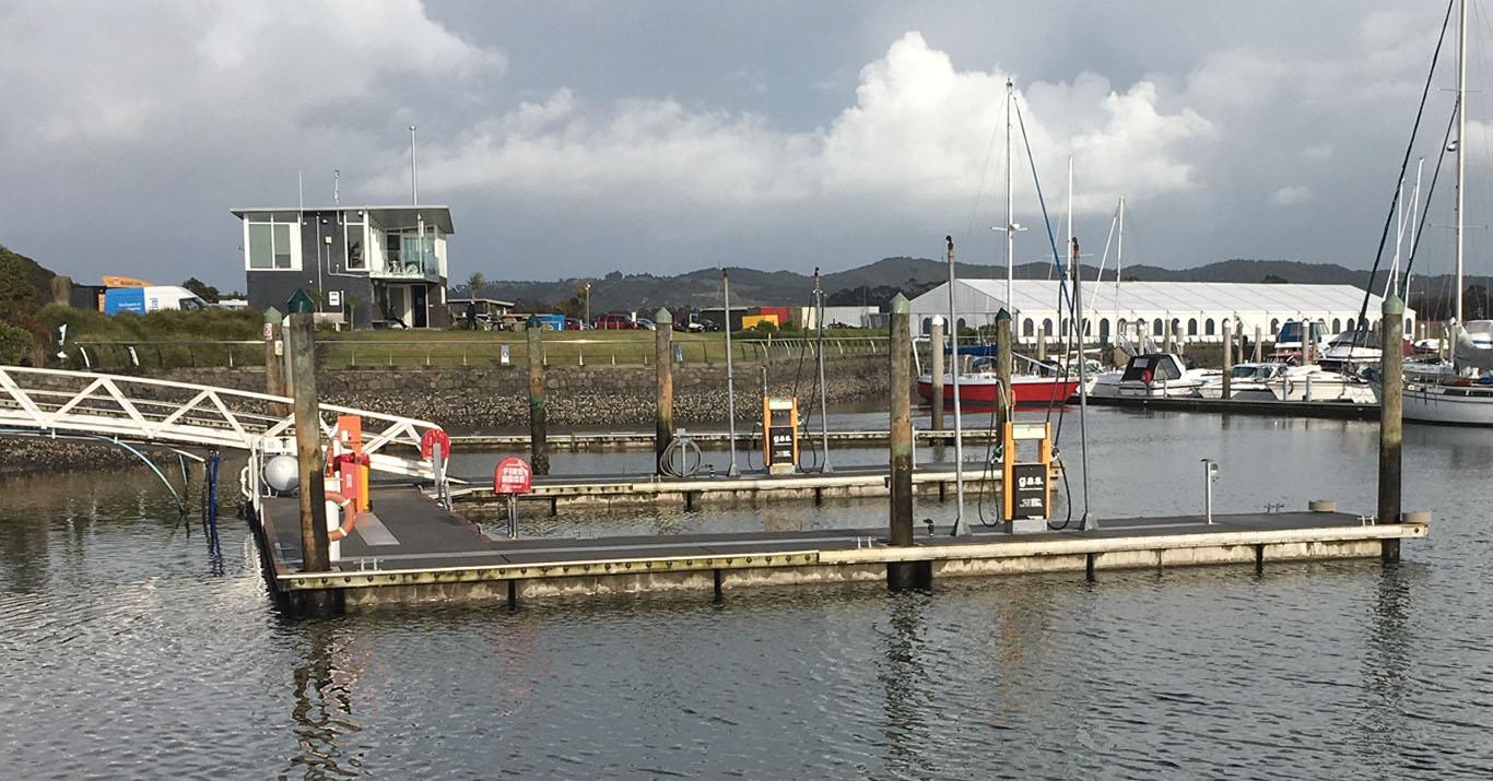 Marsden Cove Marina - Fuel - Directory - boatiesnz